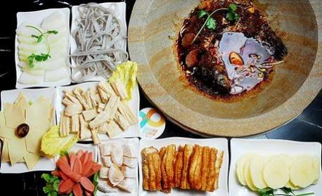 【中山路】张石锅蒸汽草帽鱼:仅售199元超值6人套餐!
